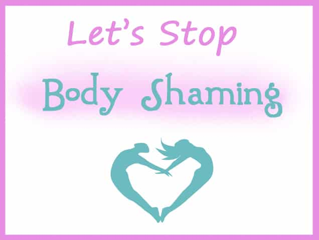 Let's Stop Body Shaming by Felicity's Blog
