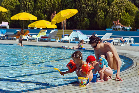 nudist naturist family raising kids pool resort felicitys blog
