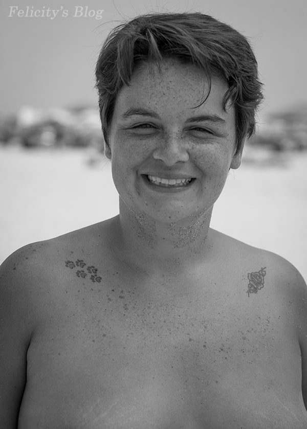 The Real Nude Beach Body Positive Photography Project: Portrait of Amy