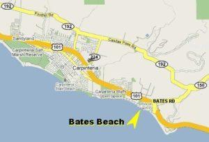 bates beach nude clothing optional map carpinteria california scna felicitys blog