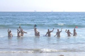 bates beach clothing optional naturists nudist nude beach california scna yna