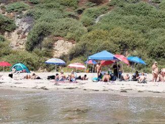 bates beach nude section clothing optional reestablished 2017 carpinteria california scna felicitys blog