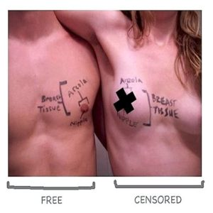 male female breasts nipples anatomy censored felicitys blog