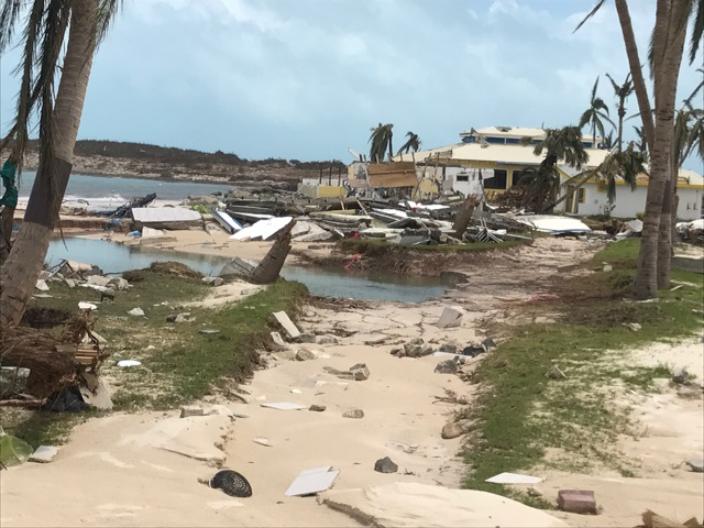 Club Orient Resort Damage From Hurricane Irma