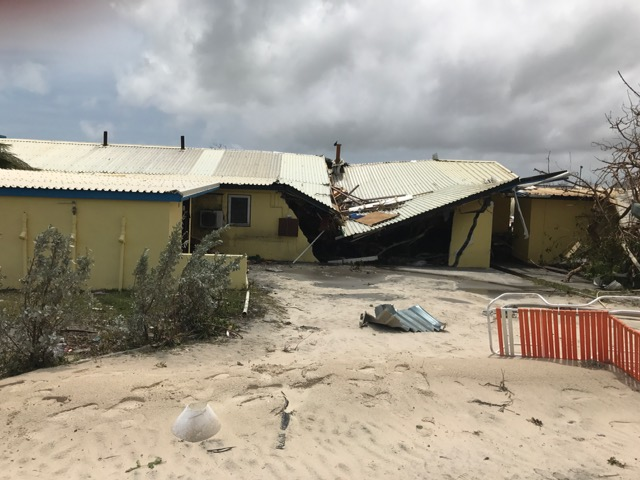 Club Orient Resort After Hurricane Irma