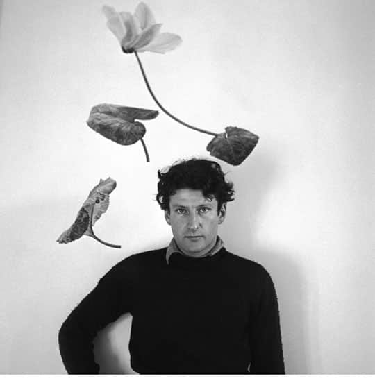 1940s Photo of artist Lucian Freud by Cecil Beaton