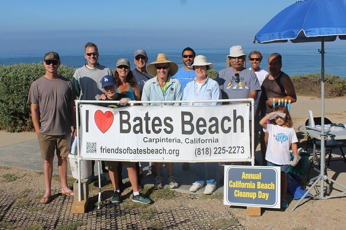 Nude Beach Cleanup at Bates Beach, CA September 16, 2017
