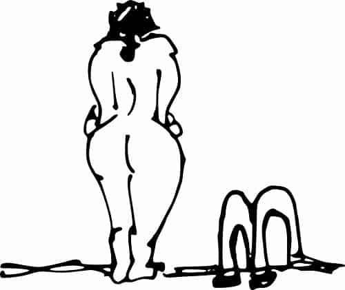 Why does naturism have a lady problem?