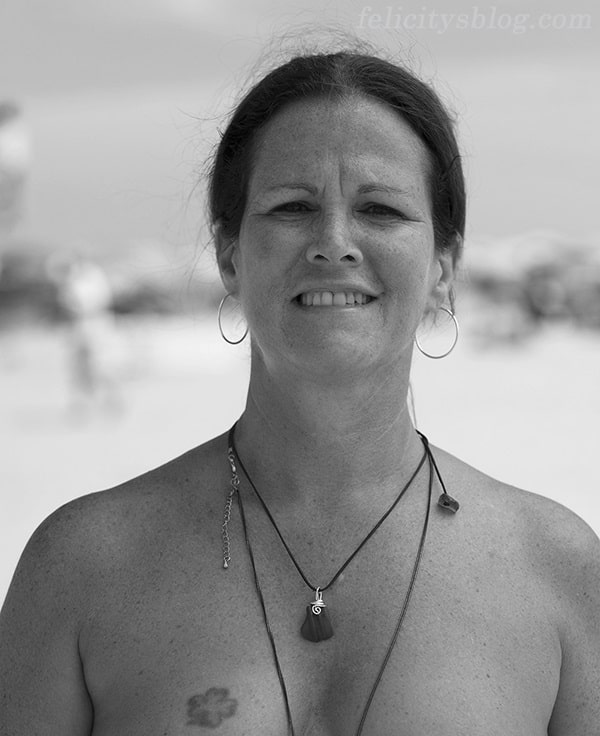 The Real Nude Beach Body Positive Photography Project: Featured Portrait of Maryann