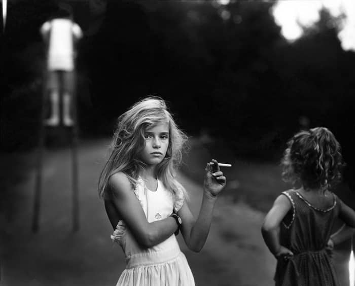Photo by Sally Mann from her book Immediate Family