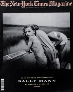 sally mann new york times magazine cover 1992 interview nude photography felicitys blog
