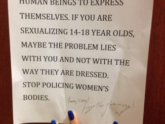 girls protest school dress codes policing women's bodies naked online felicitys blog