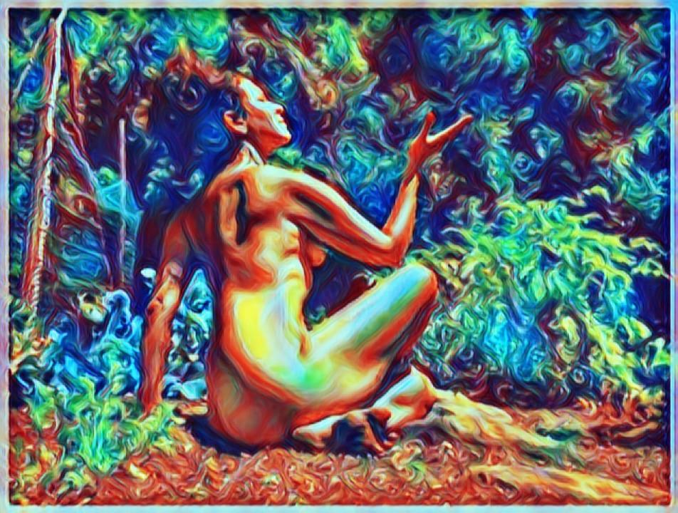 Naked Yogi Isis Phoenix