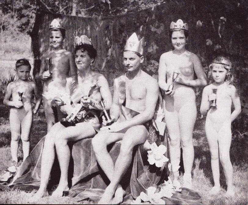 Mrs. and Mr. Suntan Nudist Contest ASA Magazine 1958