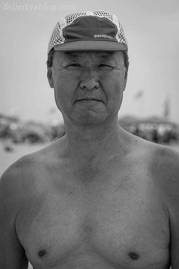 The Real Nude Beach Body Positive Photography Project: Portrait of Kwan