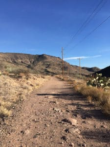 verde hot springs hike arizona clothing optional review felicitys blog
