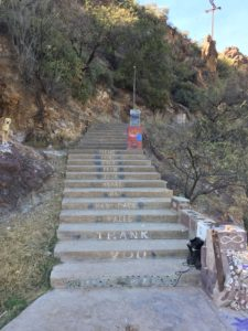 verde hot springs ruins concrete steps clothing optional review arizona felicitys blog