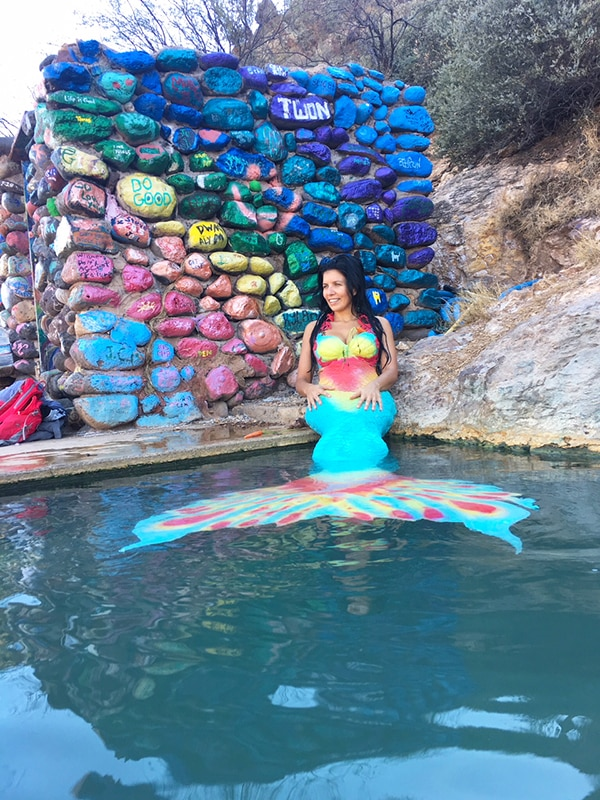 Mermaid at Verde Hot Springs