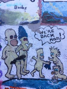 verde hot springs ruins cartoon artwork naked simpsons review felicitys blog