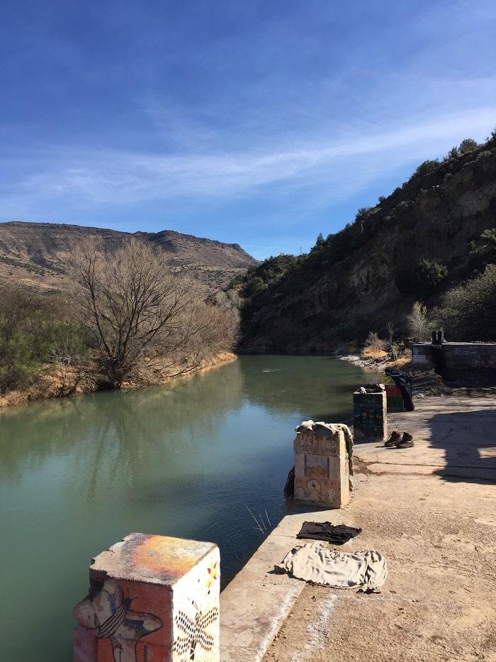 Verde Hot Springs ruins