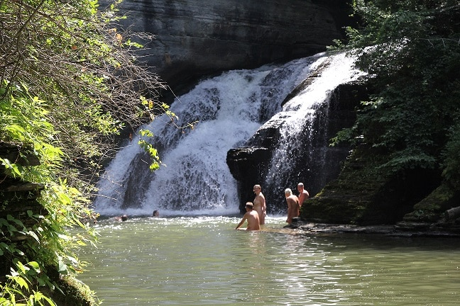 Northeast Naturist Festival 2015 Potter's Falls