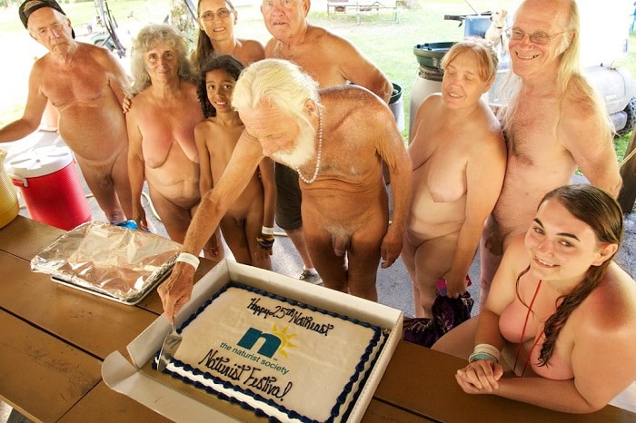25th Anniversary Cake at the Northeast Naturist Festival 2016