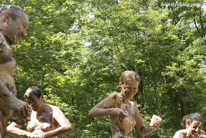Northeast Naturist Festival 2016 Pudding Toss