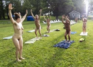 northeast naturist festival 2016 nude yoga class empire haven nudist park felicitys blog