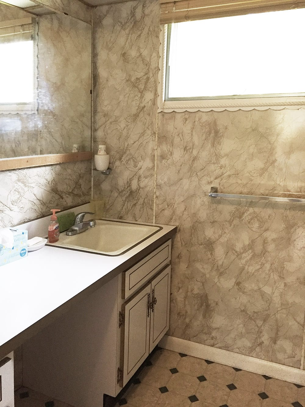 Nudist Vacation Rental – Bathroom Vanity