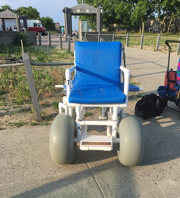 Beach Wheelchair At Gunnison Beach