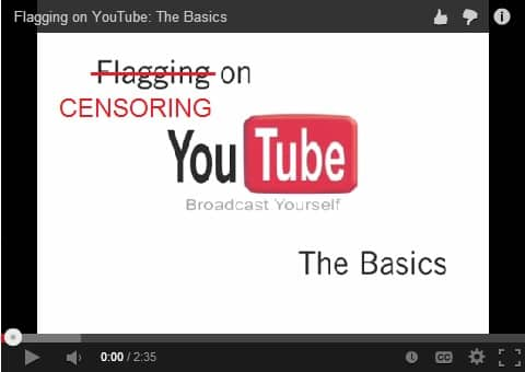 youtube flagging censorship community guidelines videos felicitys blog