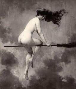 nudity paganism wicca history naked witch broomstick skyclad folklore felicitys blog