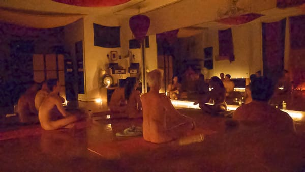 Zensuality Nude Yoga Class in NY