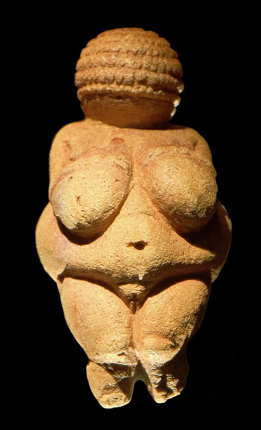 Venus of Willendorf nude sculpture