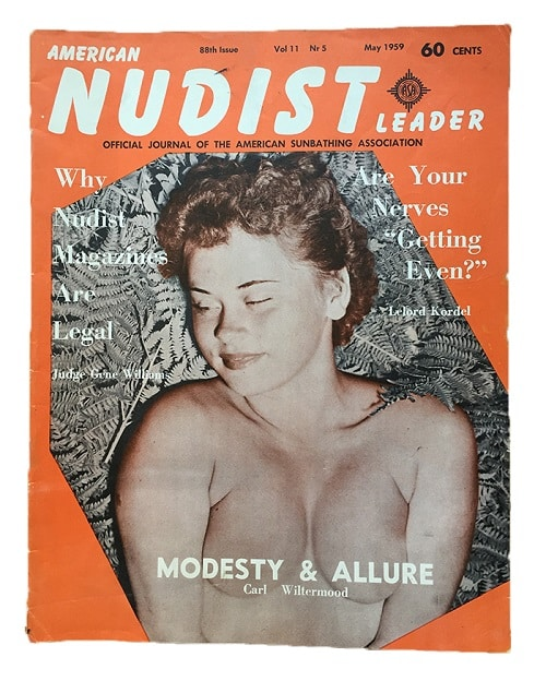 American Nudist Leader Magazine 1959